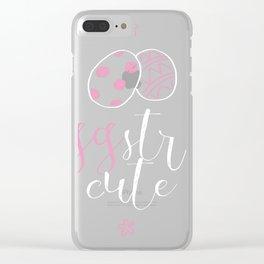 Eggstra Cute Clear iPhone Case