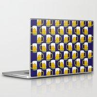 beer Laptop & iPad Skins featuring beer by Jaeyun Woo