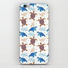 The Sea Turtle Pattern iPhone & iPod Skin
