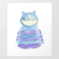 The Cheshire Art Print