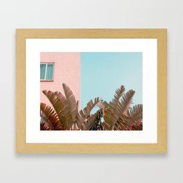 Hotel Laguna Framed Art Print