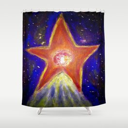 Heart of Ours. Shower Curtain