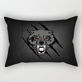 WOLF and ClAW Rectangular Pillow