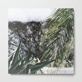 Mossy Metal Print