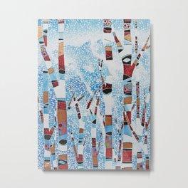 Alyeska First Snowfall Metal Print