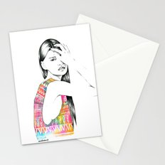 Tribal Girl Stationery Cards