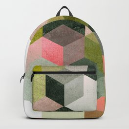 ABSTRACT GEOMETRIC COMPOSITON I Backpack
