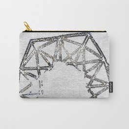 Melted geometry 2 Carry-All Pouch