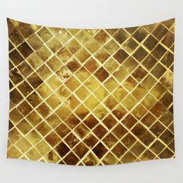 gold plated Wall Tapestry