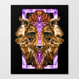 Lion Shaman Canvas Print