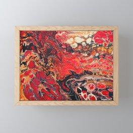 Lavafluss Framed Mini Art Print