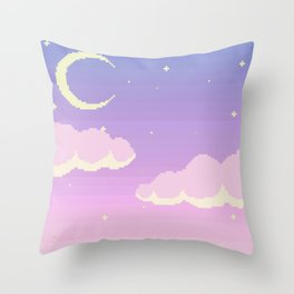Stardust Specks Throw Pillow
