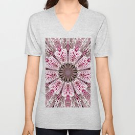 Flower from the Future? Unisex V-Neck