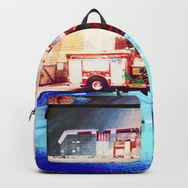 Glitch.Please - Fire Engine Red Backpack