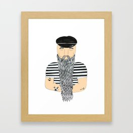 Sailor. Framed Art Print