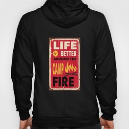 camping for people who like camping and outdoor life  Hoody