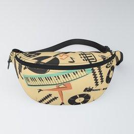 Jazz Rhythm (positive) Fanny Pack