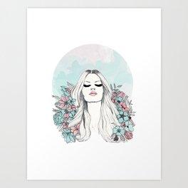 bloom v2 Art Print