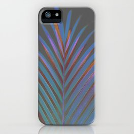Chic palm / Tropical touch iPhone Case
