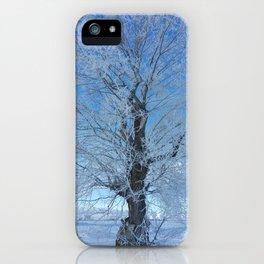 Frozen tree iPhone Case