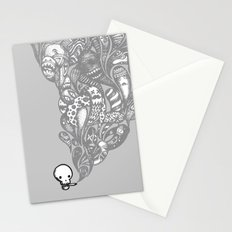 GHOST SMOKE Stationery Cards