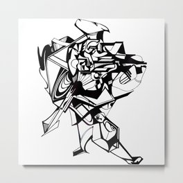 Strut Metal Print