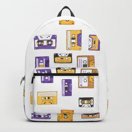 Hand-drawn Cassettes Backpack