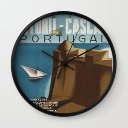 Vintage poster - Portugal Wall Clock