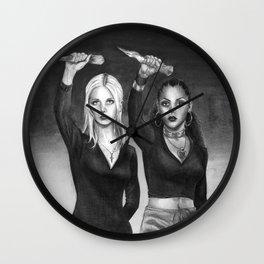 Slay The Patriarchy Wall Clock