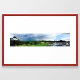 Inga hilltop Framed Art Print