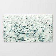 Frozen Shore Canvas Print