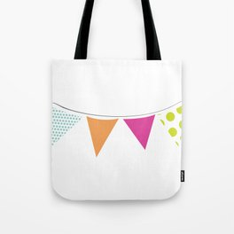 Party time fuxia Tote Bag