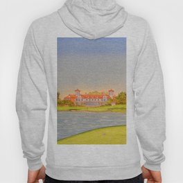 TPC Sawgrass Golf Course 18th Hole And Clubhouse Hoody