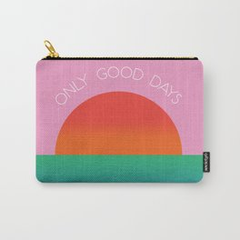 Only Good Days - Colorful Sunset/Sunrise Water Scene Carry-All Pouch