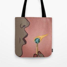 Fighting Global Warming Tote Bag