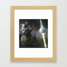 Steady III Framed Art Print