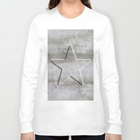 solid Long Sleeve T-shirts featuring Solid Star by LebensART