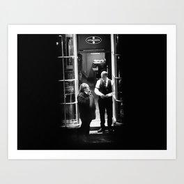 On the Street (44) Art Print