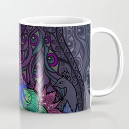 Peacock Watcher Coffee Mug