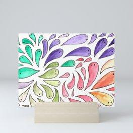 Scattering Eels Mini Art Print