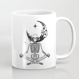 Skeleton Yoga Namaste Coffee Mug
