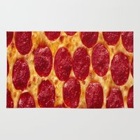 pizza Area & Throw Rugs featuring PIZZA by I Love Decor