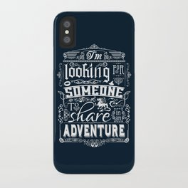 Help wanted iPhone Case