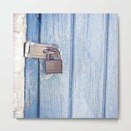 blue lock Metal Print