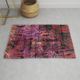 Square and Rope Rug