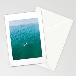 California weekend - paddleboarding Stationery Cards