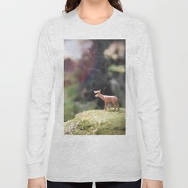 Temporary Happiness part 1 deer Long Sleeve T-shirt