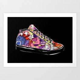 Fantasy shoe Art Print