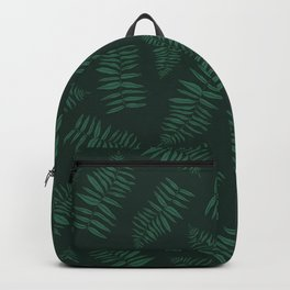 FERN PATTERN {deep forest} Backpack