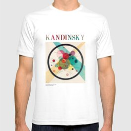 Kandinsky - Circles in a Circle (1923) - Abstract Art Classic - [With Details] T-shirt